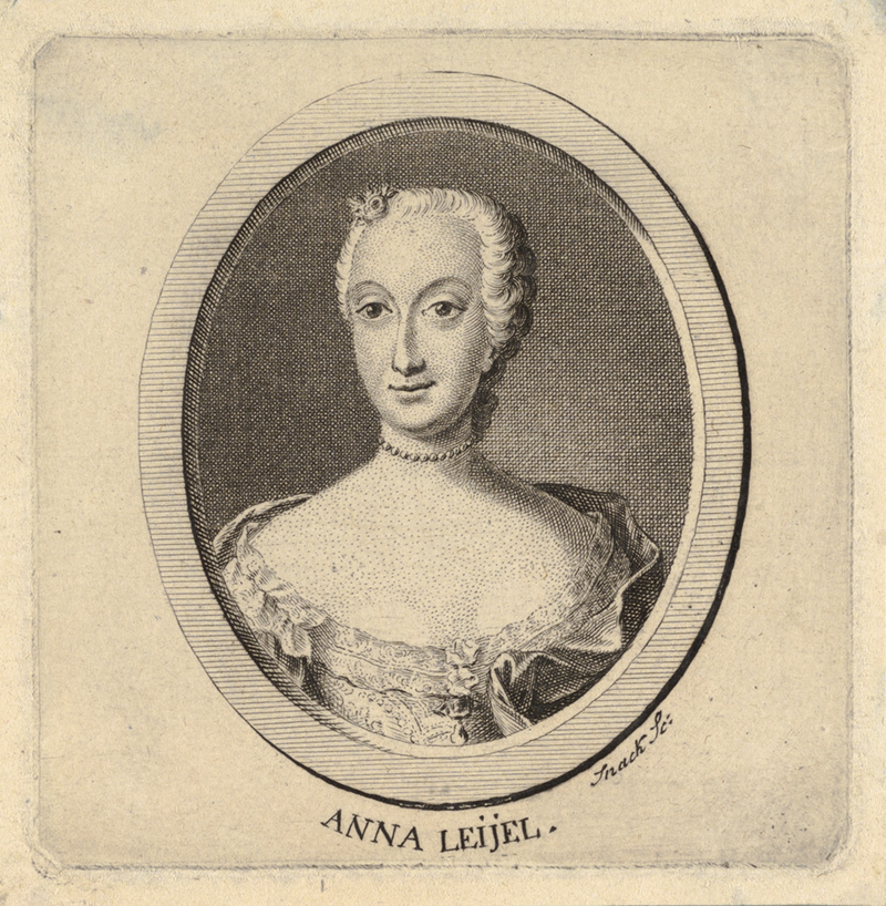 Anna Leijel engraving by J Snack